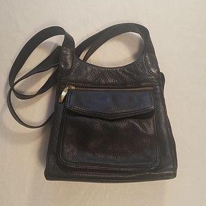 Valerie Stevens black leather purse